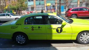 מונית צהובה בלב ניו יורק