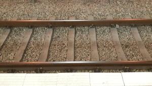 תמונה של מסילת רכבת