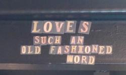אהבה היא מילה ישנה