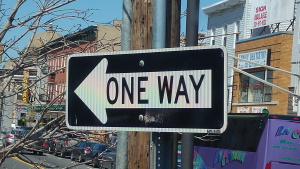 כיוון אחד
