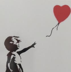 הלב של בנקסי